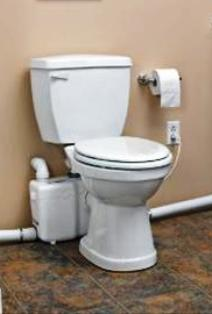 install a flush up toilet a flush up toilet installation does not